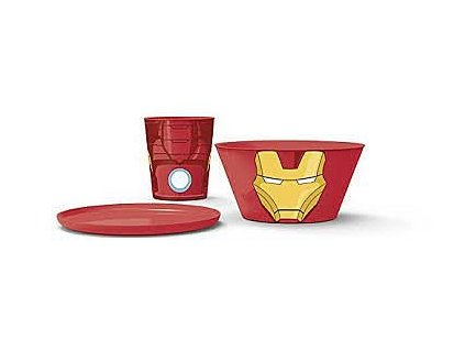 Jídelní set - Ironman