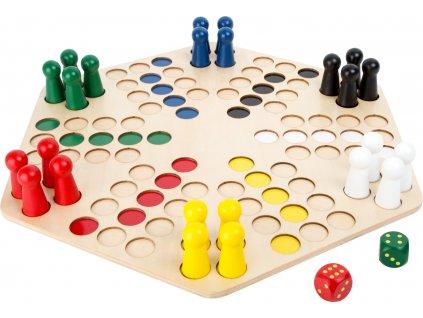 Small Foot Dřevěné člověče nezlob se pro 6 hráčů  + Dárek zdarma