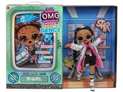 L.O.L. Surprise! OMG Velká ségra Dance B-GURL panenka 15 překvapení