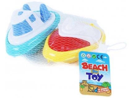Baby lodička barevná do vody set 2ks do vany pro miminko plast