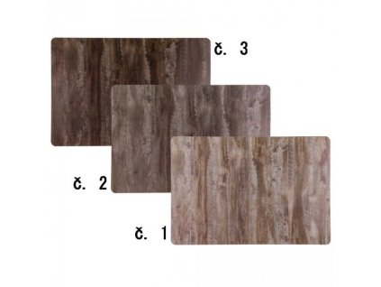 Prostírání – design dřevo