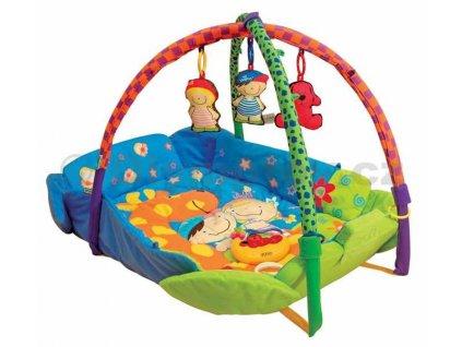 K´S KIDS Deka hrací s hrazdičkou pro miminko  + Dárek zdarma