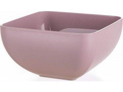 Miska plastová CULINARIA 11 x 11 x 6,3 cm, 0,5 l, růžová