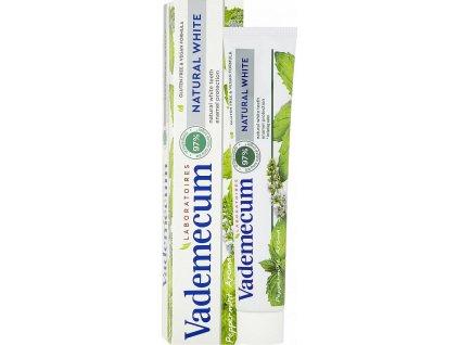 Natural White zubní pasta s bělicím účinkemí, 75 ml