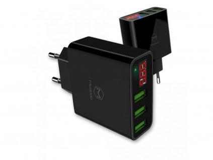 Inteligentní rychlonabíječka (3 PORTS USB)