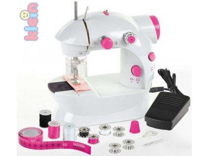 KLEIN Stroj šicí dětský funkční set s cívkami jehlou a doplňky  + Dárek zdarma