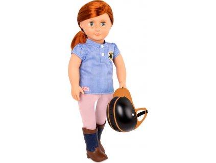 Our Generation panenka Elliet 46cm kloubová žokejka set s helmou v krabici  + Nanopodložka, loupač, nebo desinfekce