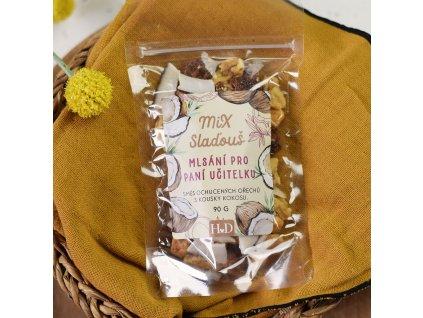 Mix ořechů s kokosem - Mlsání pro paní učitelku