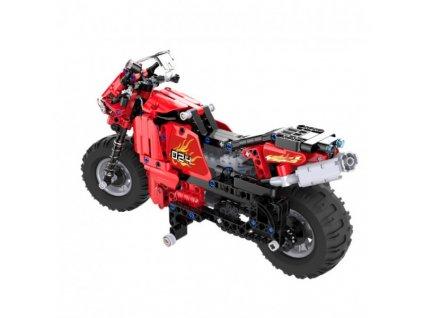 RC motorka - stavebnice - (484 dílků)  + Dárek zdarma