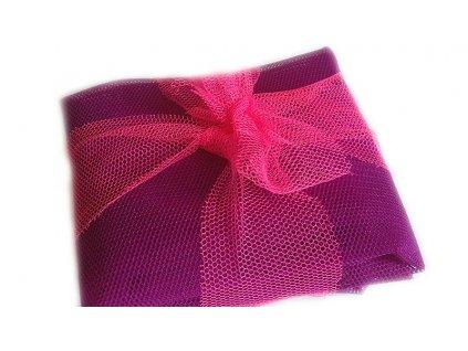 Sáčkovka Ekologická taška nákupní fialová