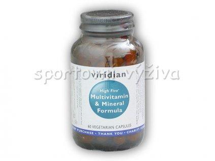 High Five Multivitamin + Mineral 60 kapslí