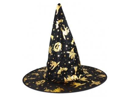 Dětský klobouk čarodějnice/Halloween