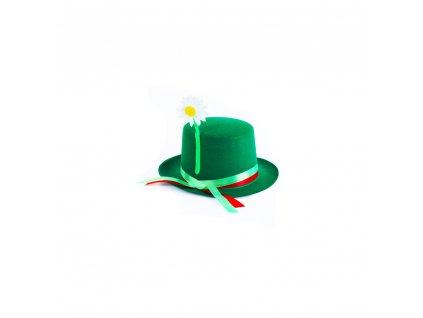 Dětský klobouk Vodník se stuhou a květinou