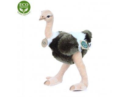 Plyšový pštros Emu 32 cm ECO-FRIENDLY
