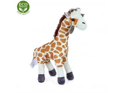 Plyšová žirafa 27 cm ECO-FRIENDLY