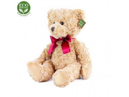 Plyšový medvěd retro sedící 28 cm ECO-FRIENDLY
