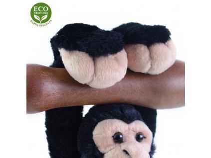Plyšový šimpanz / opice visící 20 cm ECO-FRIENDLY