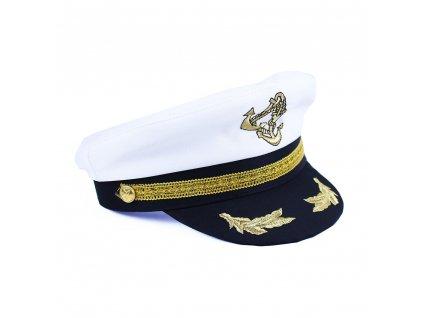 Čepice námořník / kapitán dospělá
