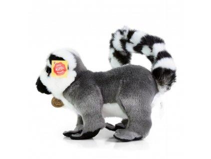 Plyšový lemur stojící 28 cm