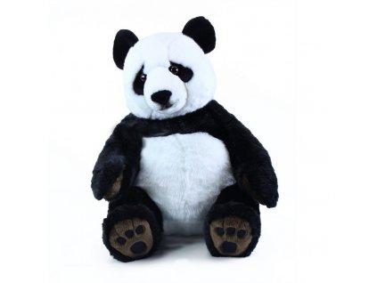 Velká Plyšová panda sedící 61 cm  + Dárek zdarma