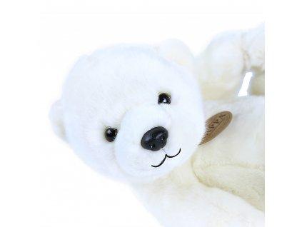 Plyšový lední medvěd ležící 25 cm