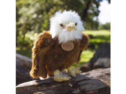 Plyšový pták orel stojící 24 cm ECO-FRIENDLY