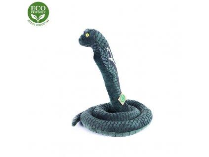Plyšový had kobra 178 cm ECO-FRIENDLY