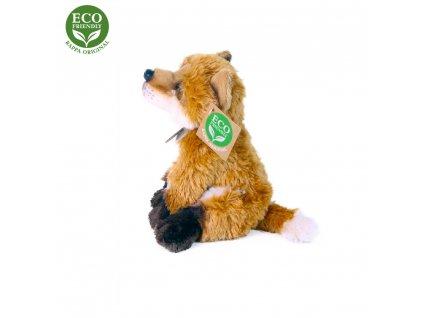 Plyšová liška sedící 15 cm ECO-FRIENDLY