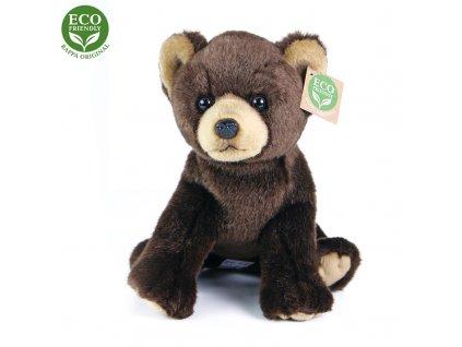 Plyšový medvěd sedící 25 cm ECO-FRIENDLY