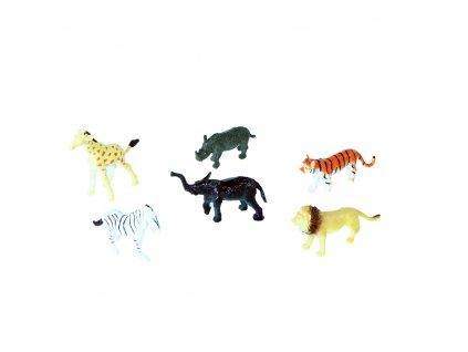 Zvířata divoká 6 ks na blistru