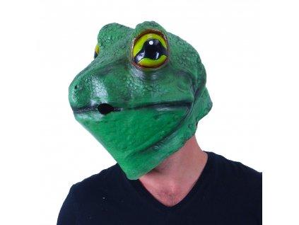 Maska pro dospělé žába