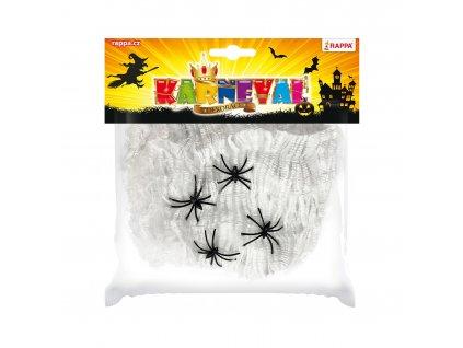 Pavoučí síť s pavouky
