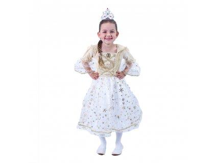 Dětský kostým princezna zlatá (L)
