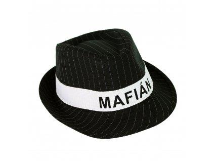 Dětský klobouk s nápisem mafián