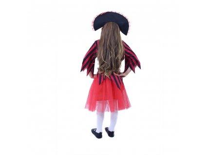 Dětský kostým pirátka s kloboukem (S)