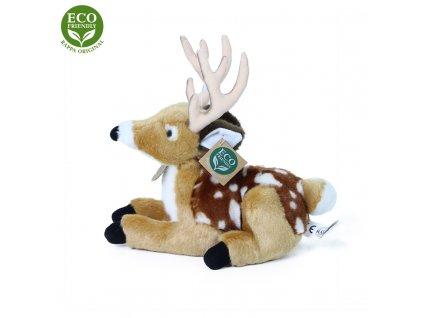 Plyšový jelen/koloušek ležící 21 cm ECO-FRIENDLY