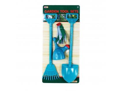 Zahradní set s rukavicemi 4 ks