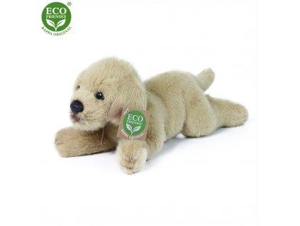 Plyšový labrador ležící 20 cm ECO-FRIENDLY