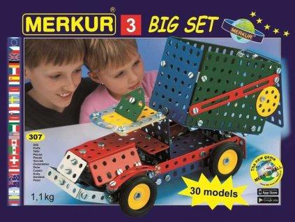 Merkur 3 stavebnice, 307 dílů, 30 modelů