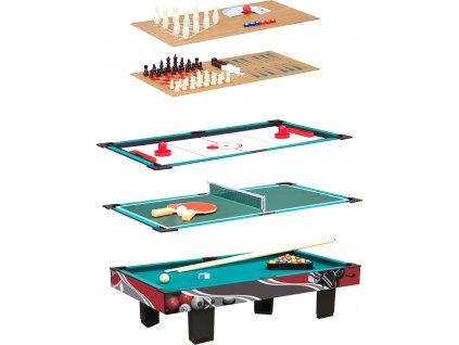 Small Foot Multifunkční hrací stůl 9 v 1  + Dárek zdarma