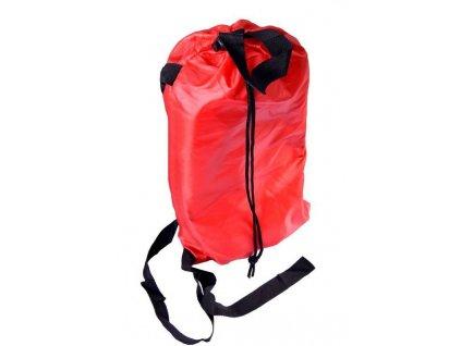 Nafukovací vak Lazy bag jednovrstvý - červený