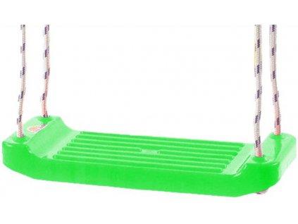 MAD Houpačka zelená závěsná 43x17cm plastové prkénko
