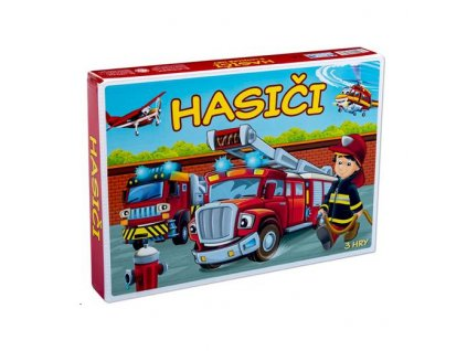 Hra Hasiči 3 logické hry
