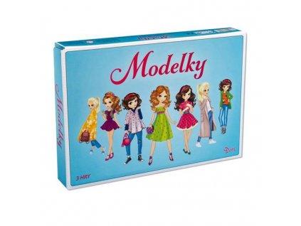 Hra Modelky 3 logické hry