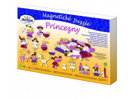Puzzle magnetické - Princezny