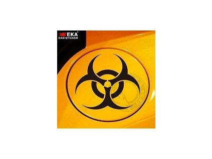 Nálepka na auto - logo Resident Evil (Černá)