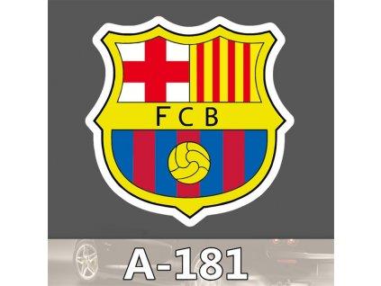 Nálepka na auto - FC Barcelona
