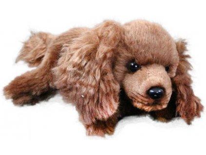 PLYŠ Pes ležící 17 cm 5 druhů pejsek * PLYŠOVÉ HRAČKY *