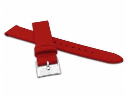 Červený řemínek MINET z luxusní kůže Top Grain - 18