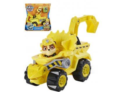 SPIN MASTER Tlapková Patrola Rubble set auto tematické s figurkou a dinosaurem